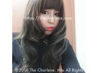 アッシュブルージュ、外国人風ヘアカラー©2018 The Charlene. Miu All Rights Reserved.
