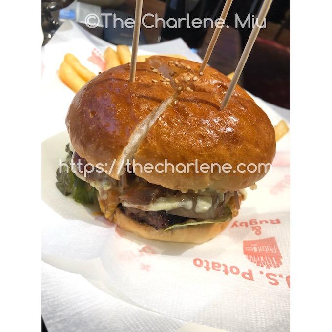 恵比寿エピローグのハンバーガー 1,200円(税抜)